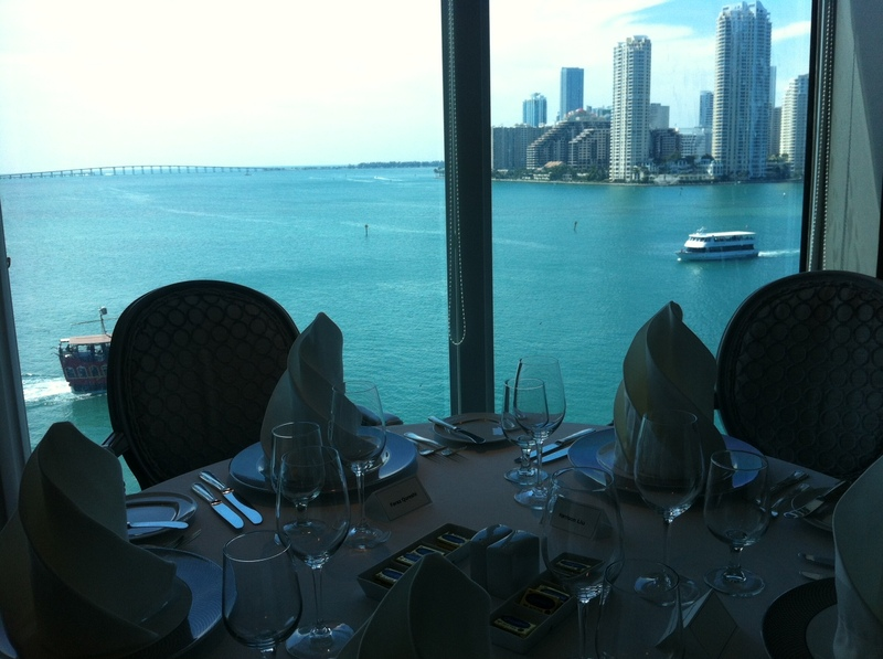 View from Aqualina Restaurant