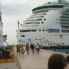 In port, Cozumel, Mexico
