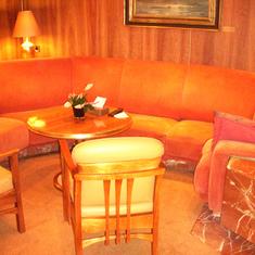 Livingroom in Penthouse Suite, aka Pinnacle Suite, Cabin 7001