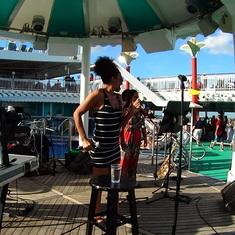 Sailaway Deck Party entertainment