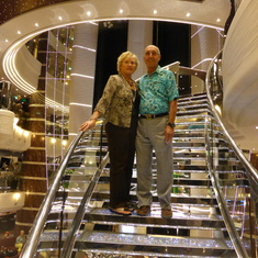 Glitzy Staircase - Great Photo Op