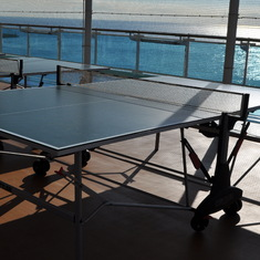 Ping pong on Royal Princess
