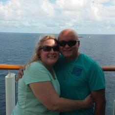 Miami, Florida - We made our shirts before sailing...Cruise Like a Norwegian!