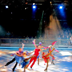 Ice Show on the Voyager