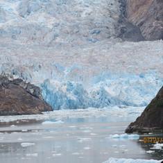 Sayer Glacier, Closet the Captain could get all 2014
