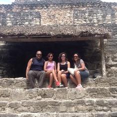 Maya Temple in Costa Maya
