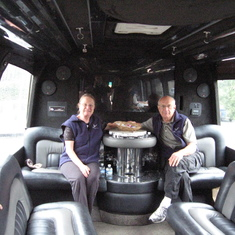 Only way to visit the NAPA Valley--In a large limo.