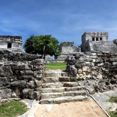 Mayan Ruins at Tulum, Mex.