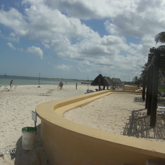 Progreso-private beach excursion-ocean & beach view