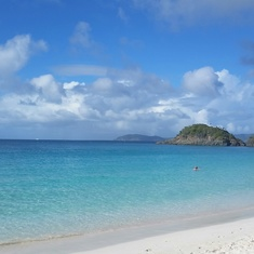 Trunk Bay in St. Johns, USVI