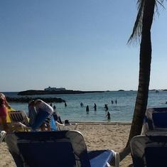 Cococay (Cruiseline's Private Island) - Coco cay