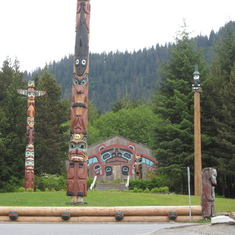 Ketchikan, Alaska---Greatest area of indigenous Alaskan cultural influence.