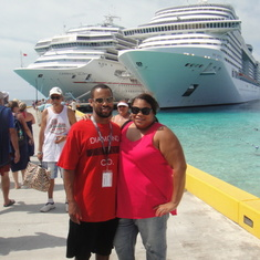 We are at Grand Turk
