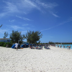 Half Moon Cay, Bahamas (Private Island) - HALF MOON CAY: MOST WHITE SAND AND CLEAREST WATER EVER!