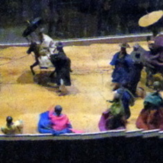 Diorama at Folklore Museum