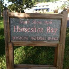 Horse shoe bay