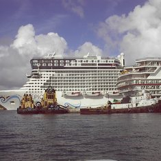 Norwegian Epic in Nassau
