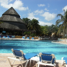 Progreso-private beach excursion-pool
