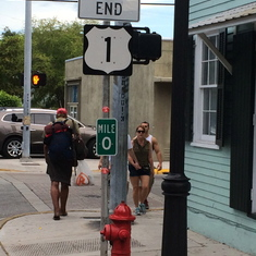 Key West, the first port