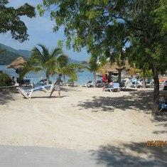 Beach at Labadee,Haiti