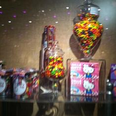 Candy shop, Carnival Splendor