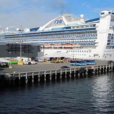 cruise on Golden Princess to Alaska