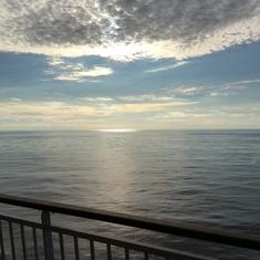 Serene moments aboard the GEM
