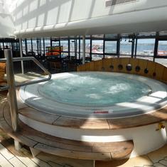 Inside whirlpool