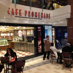 Quantum of the Seas Cafe Promenade