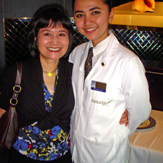 "Her name is ""Intan"" and she is the best server ever!  Pinnacle Grill, Westerdam"
