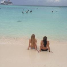 Half Moon Cay (the private island) is the definition of paradise, period.