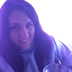At the Svedka Ice Bar on Norwegian Getaway