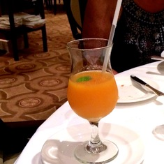 Fruit Soup in a Glass