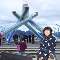 Vancouver (Canada Place), British Columbia - Vancouver Olympic Cauldron (Olympic Flame), Vancouver, B.C.