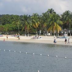 Beach at Ocho Rios, Jamaica