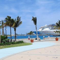 Nassau, Bahamas - From nice public square in Nassau.