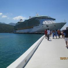Haiti ,headed back to ship