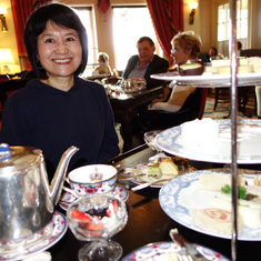 Great High Tea at the Empress Hotel in Victoria, B.C., May 2014