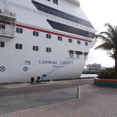Carnival Liberty - Docked