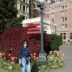 Empress Hotel, Victoria, B.C., May 2014
