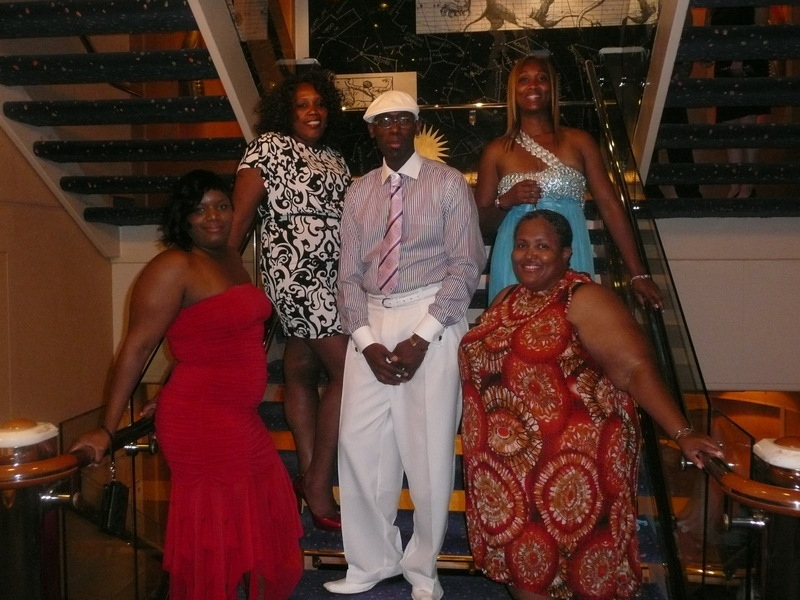 Picture Of Our 1st Formal Night Freedom Of The Seas