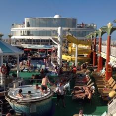 Fun on our ship.