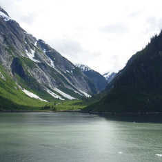 In route to the Sawyer Glacier in the Tracy Arm Fjord
