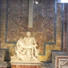 Civitavecchia (Rome), Italy - The Pieta by Michaelangio