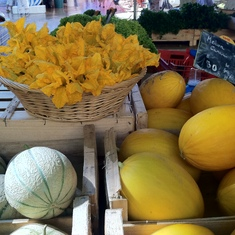 Toulon, France - Squash at the market in Aix