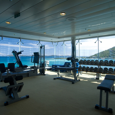 MSC Lirica gym