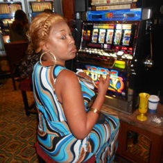 Trying to win in the casino