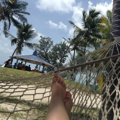 Relaxation at Coco Cay