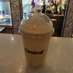 Shake Spot, Spirit of Kentucky Shake (bourbon, caramel, and vanilla ice cream