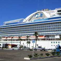 Ensenada, Mexico - Crown Princess